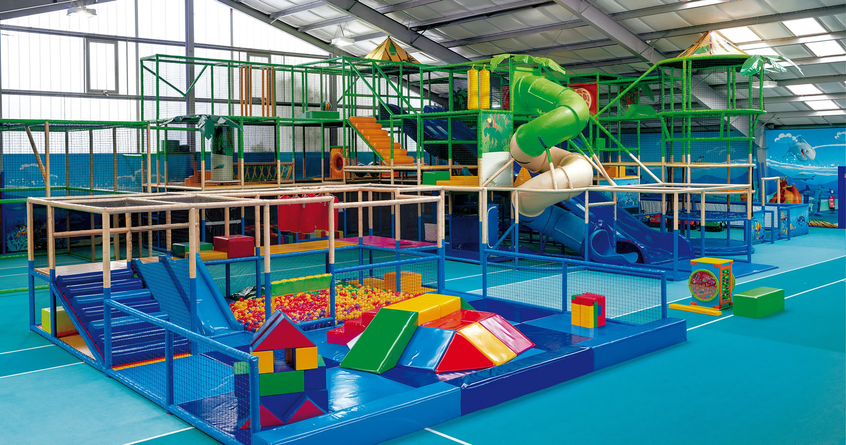 Indoorspielplatz Sagard - Erlebniswelt SPLASH | indoor